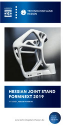 Hessian joint stand formnext