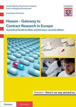 Hessen - Gateway to Contract Research in Europe