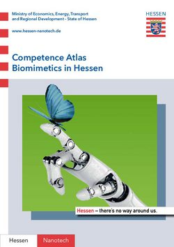 Competence Atlas Biomimetics in Hessen
