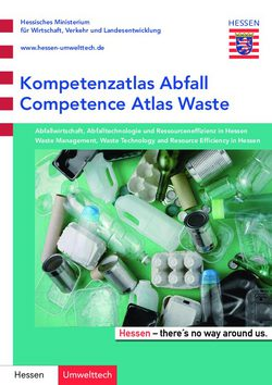 Competence Atlas Waste - Waste Management, Waste Technology and Resource Efficiency in Hessen